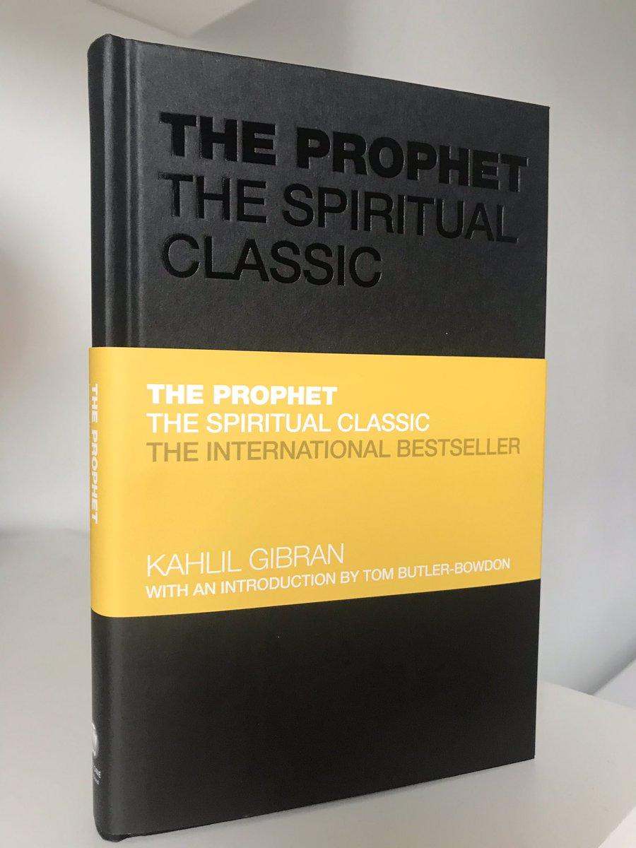 Kahlil Gibran The Prophet Tom Butler Bowdon